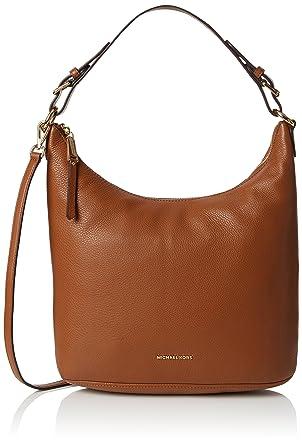 eb3eb5263e Michael Kors Women s Lupita Large Hobo Bag Shoulder Bag Brown (Luggage)