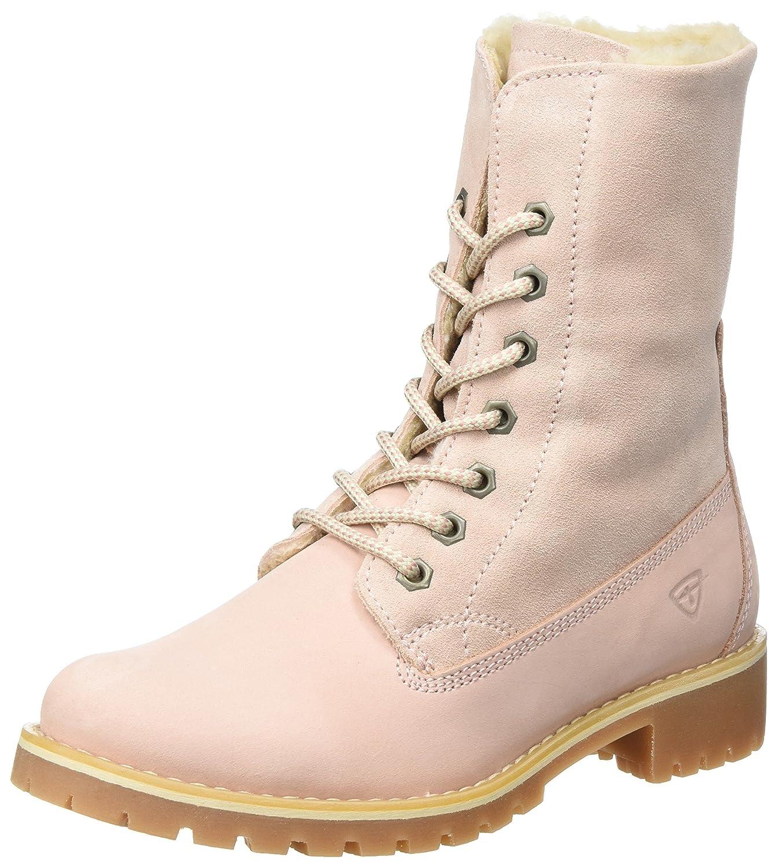 Tamaris 26443, Botas Militar para Mujer37 EU|Rosa (Light Pink)