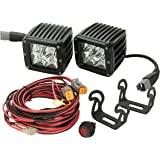 Rigid Industries 20222 Dually Amber Spotlight, (Set of 2)