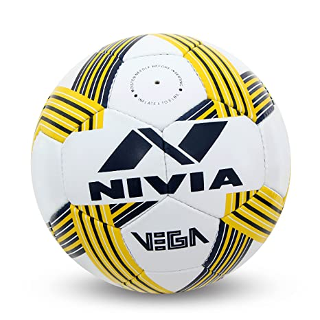 f57666100460 Buy Nivia Vega Football (5) Online at Low Prices in India - Amazon.in