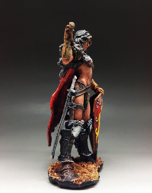 54 mm fantasy Tin soldier Verthandi Burning Ice figure