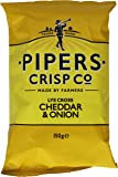 Pipers Cheddar and Onion Crisps 150 g (Pack of 15)
