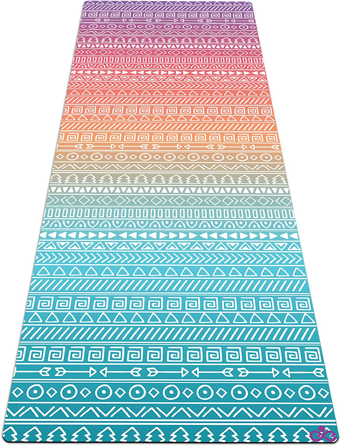 Reetual, The Yoga Mat That Adores Sweat | Premium Hot Yoga Mat Non Slip Towel Combo - with Carrying Strap | Eco Friendly | Designed for Bikram, Hot ...