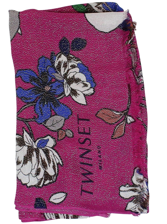 TwinSet Women's 191TA436803500 Fuchsia Viscose Scarf