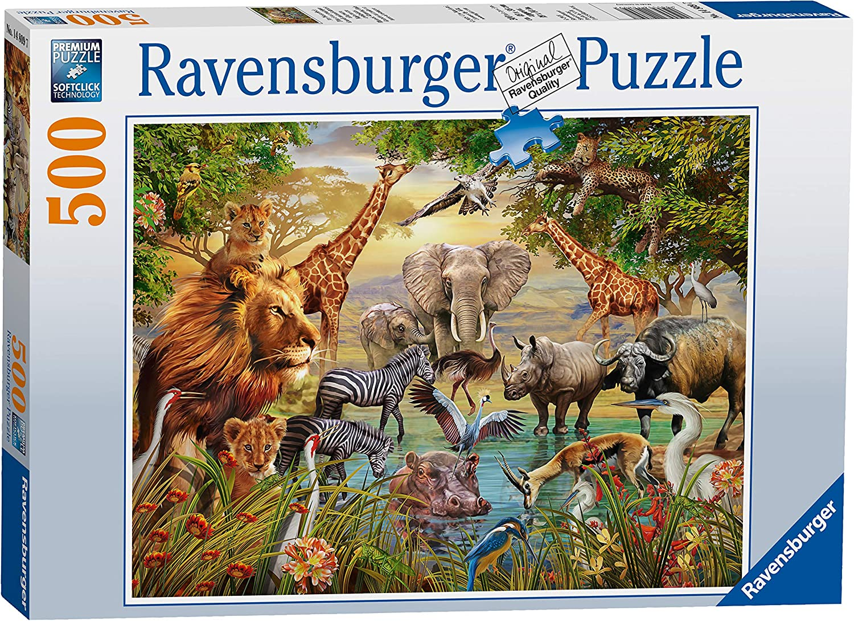JR Puzzles Woodland Jigsaw Puzzle 300