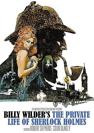 Amazon.com: The Private Life of Sherlock Holmes: Robert Stevens, Colin  Blakely, Christopher Lee, Genevieve Page, Tamara Toumanova, Billy Wilder,  Billy Wilder, I.A.L. Diamond, Arthur Conan Doyle: Movies & TV