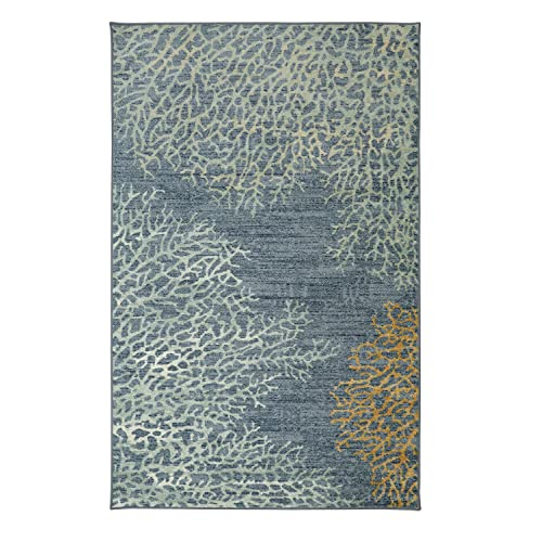 Marvelous Mohawk Home Strata Coral Reef Multi Rug, ...
