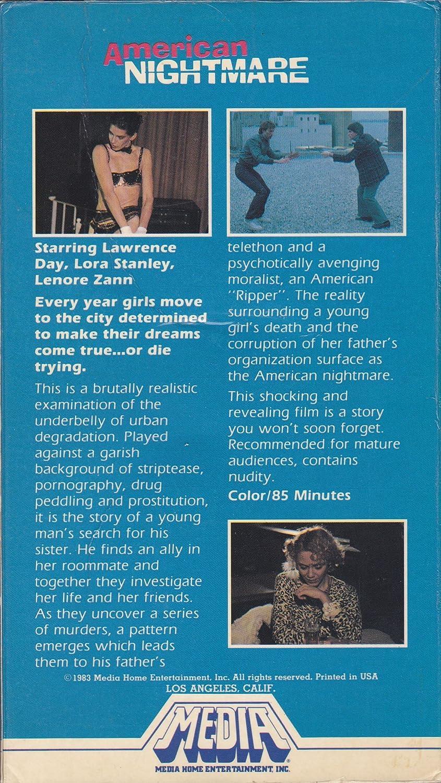 Amazon.com: American Nightmare (1983): Lenore Zann, Michael Ironside ...