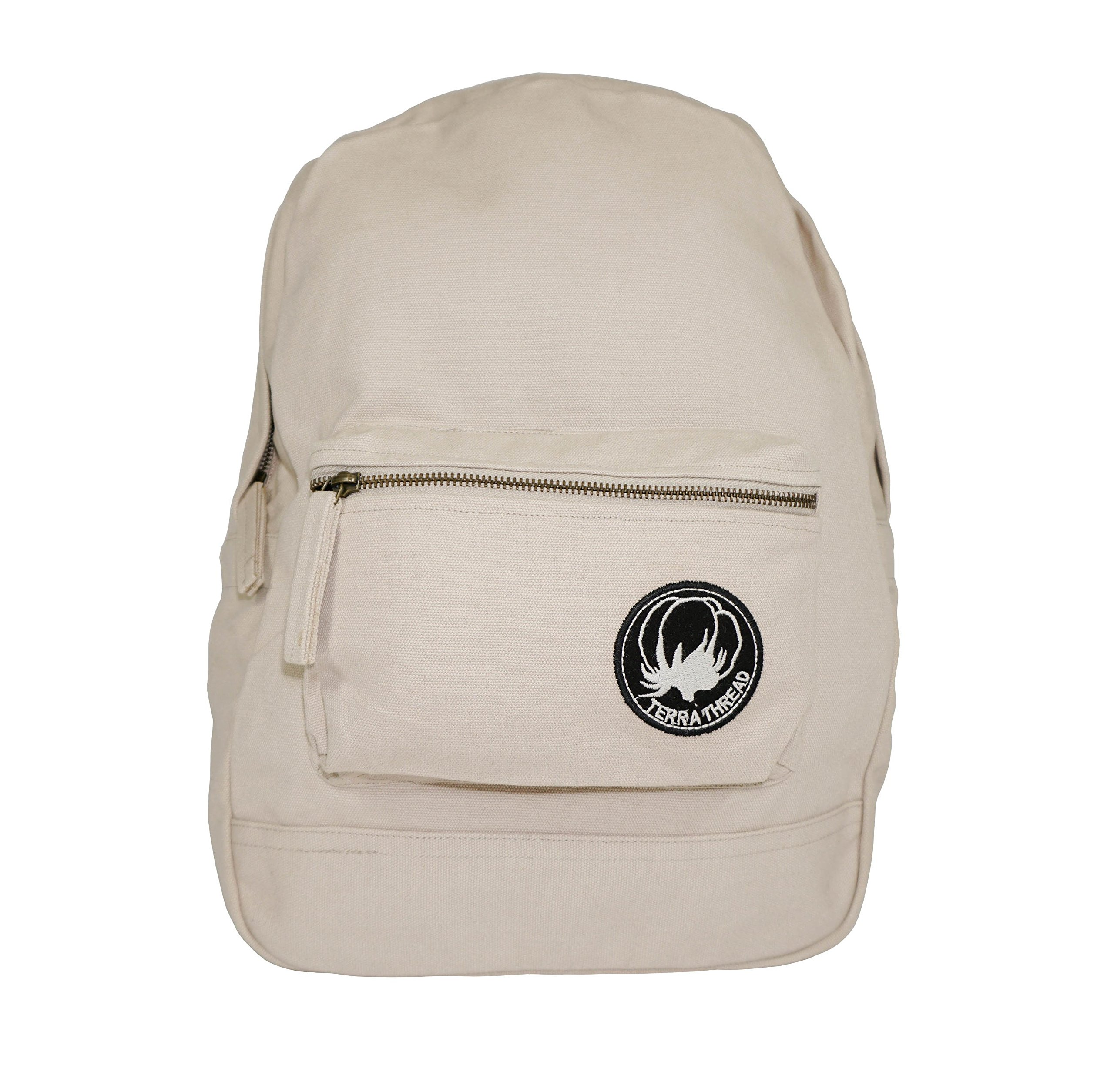 GOTS & Fair Trade certified. Environmental friendly backpack for men and women. by Terra Thread (Image #1)