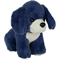 Dhoom Soft Toys Dog Soft Cute Toy / Dog Stuffed Plush Toy / Kids Animal Toy Gift Blue, 20 cm