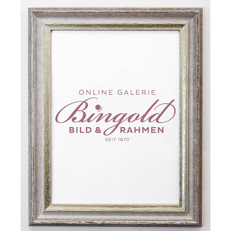 Amazon.de: Online Galerie Bingold Bilderrahmen Trento Beige Silber 5 ...
