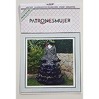 Patrón de costura vestido flamenca Largo para hacerlo