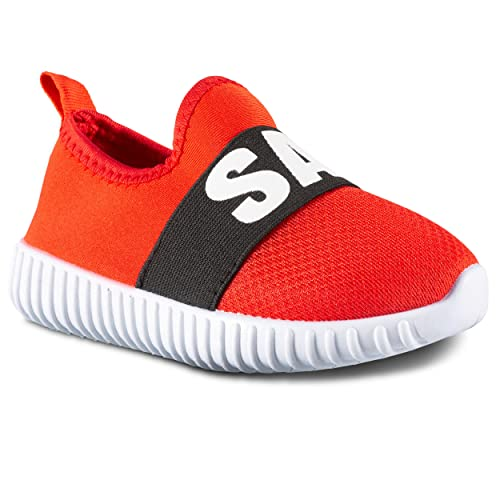 f51057fd6 Amazon.com | ShoeShox Kids Sneakers Mesh Breathable Athletic Running Tennis  Shoes Boys Girls | Sneakers