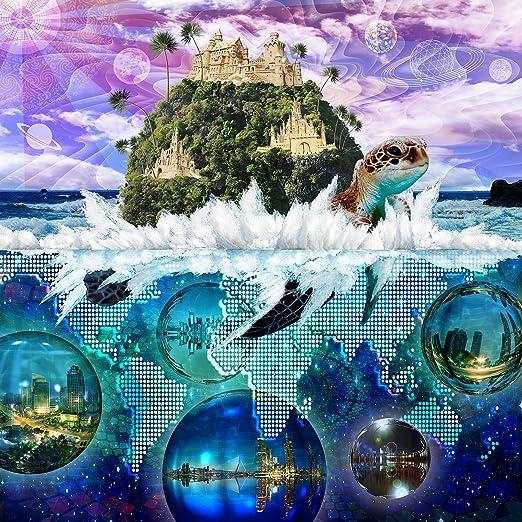 Amazon Com Lucid Eye Studios Canvas Print Wall Art Turtle Island