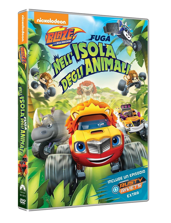 Blaze E Le Mega Macchine - Fuga Nell'Isola Degli Animali [Italia] [DVD]