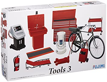 Amazon.com: 1/24 Tool Set 3 (Model Car) Fujimi No.27|Garage ...