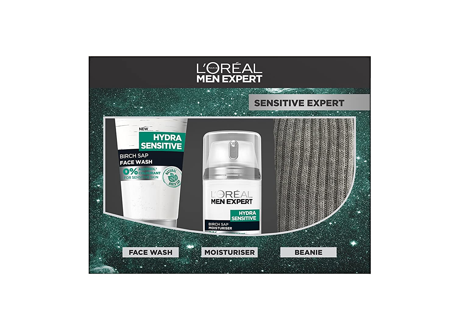 L'Oreal Men Expert Hydra Sensitive Shower Gel 300ml Pack of 6 L' Oreal 3600523435210