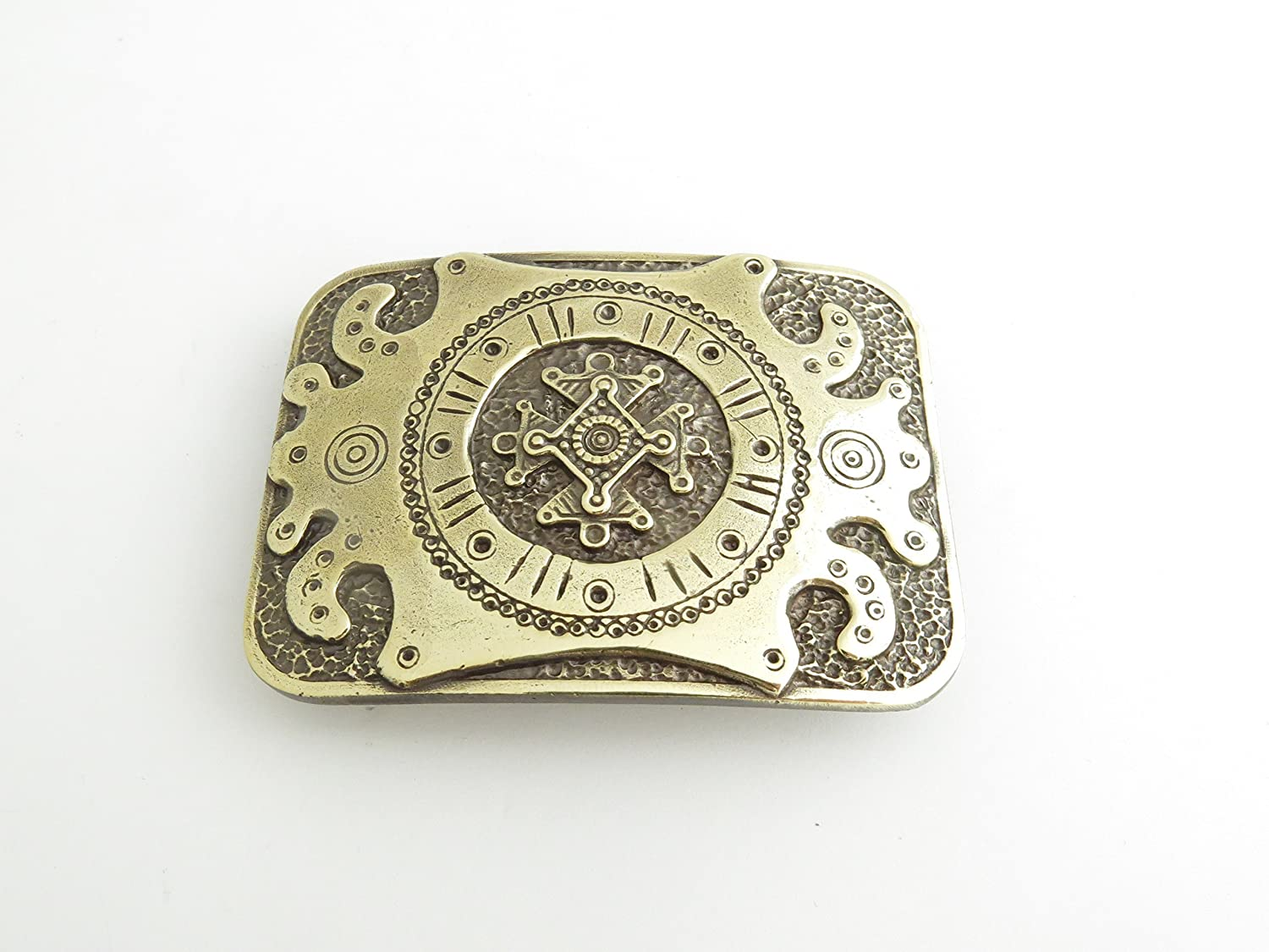 Unique Ornamental Belt Buckle