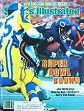 McMahon, Jim 1/20/86 autographed magazine