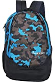 """POLE STAR """"RANGER"""" 31 Ltrs Camo Blue Lite weight Casual Backpack I School Bag"""