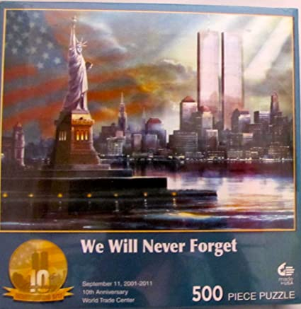 Masterpieces 31172 500 pcs jigsaw puzzle We Will Never Forget