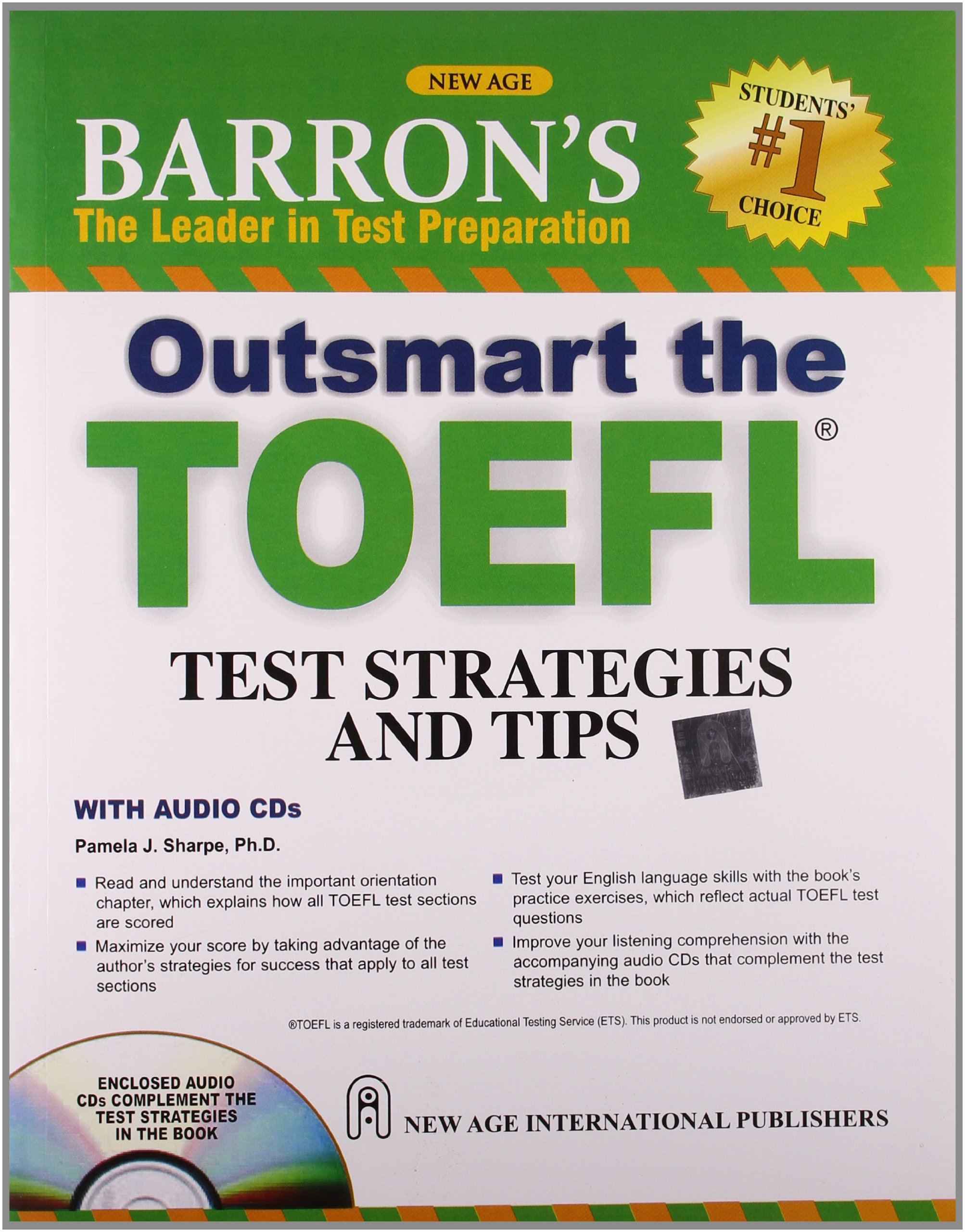 Barrons Outsmart the TOEFL Test Strategies and Tips (With CD)