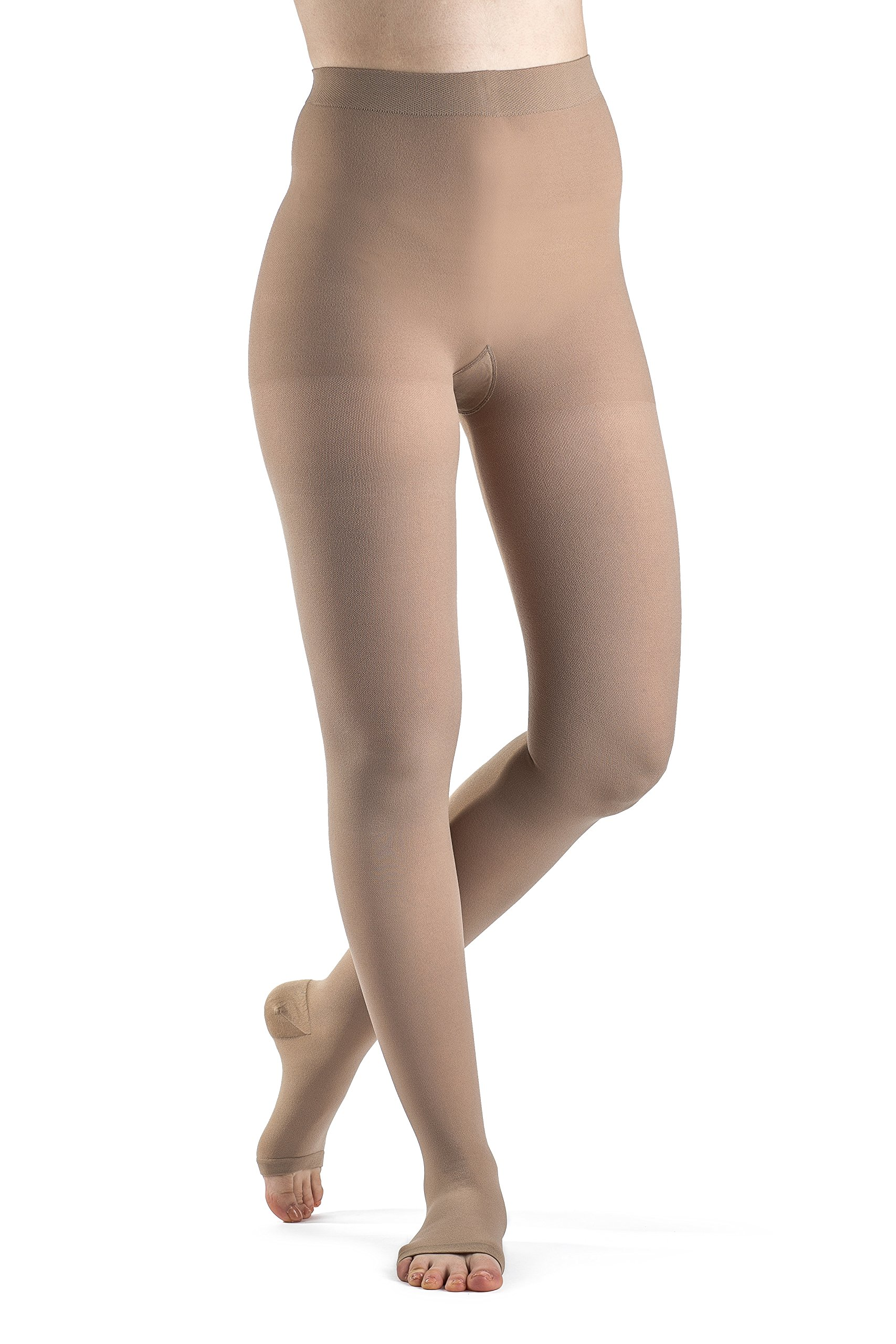 SIGVARIS Women's Access 970 Open-Toe Pantyhose Medical Compression 30-40mmHg