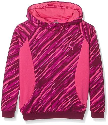 Style Puma-Sudadera con capucha para niña, color morado (: 12 años,
