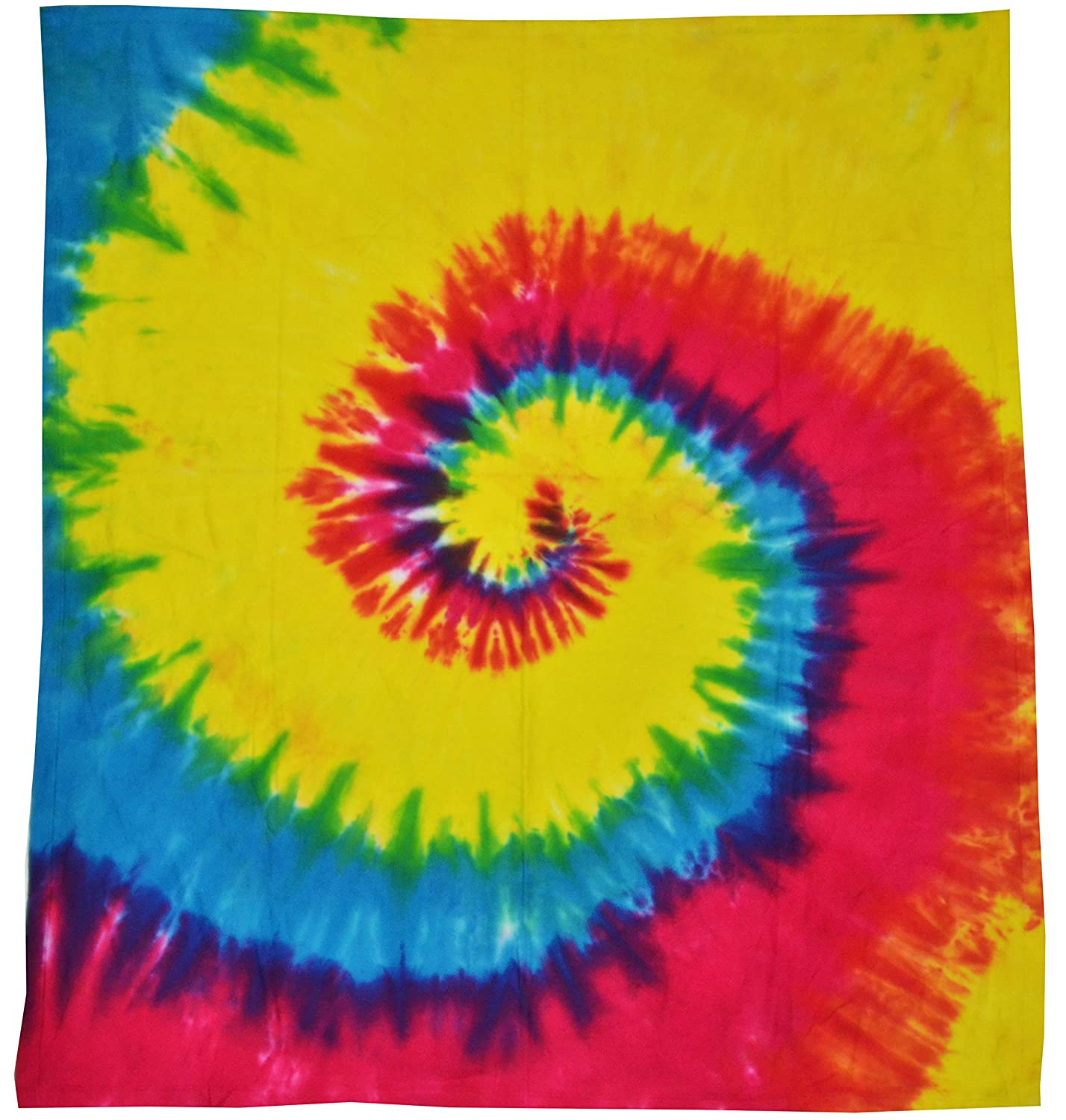 Amazon.com: Colortone Tie Dye Blanket Cloud Blue: Home & Kitchen