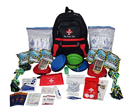 Amazon.com: Pet Evac Pak, LLC Premium 2-Big Dog Kit de ...