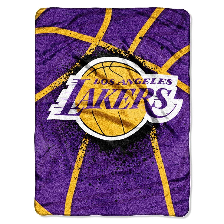 Amazon.com : NBA Los Angeles Lakers Shadow Play Royal Plush ...