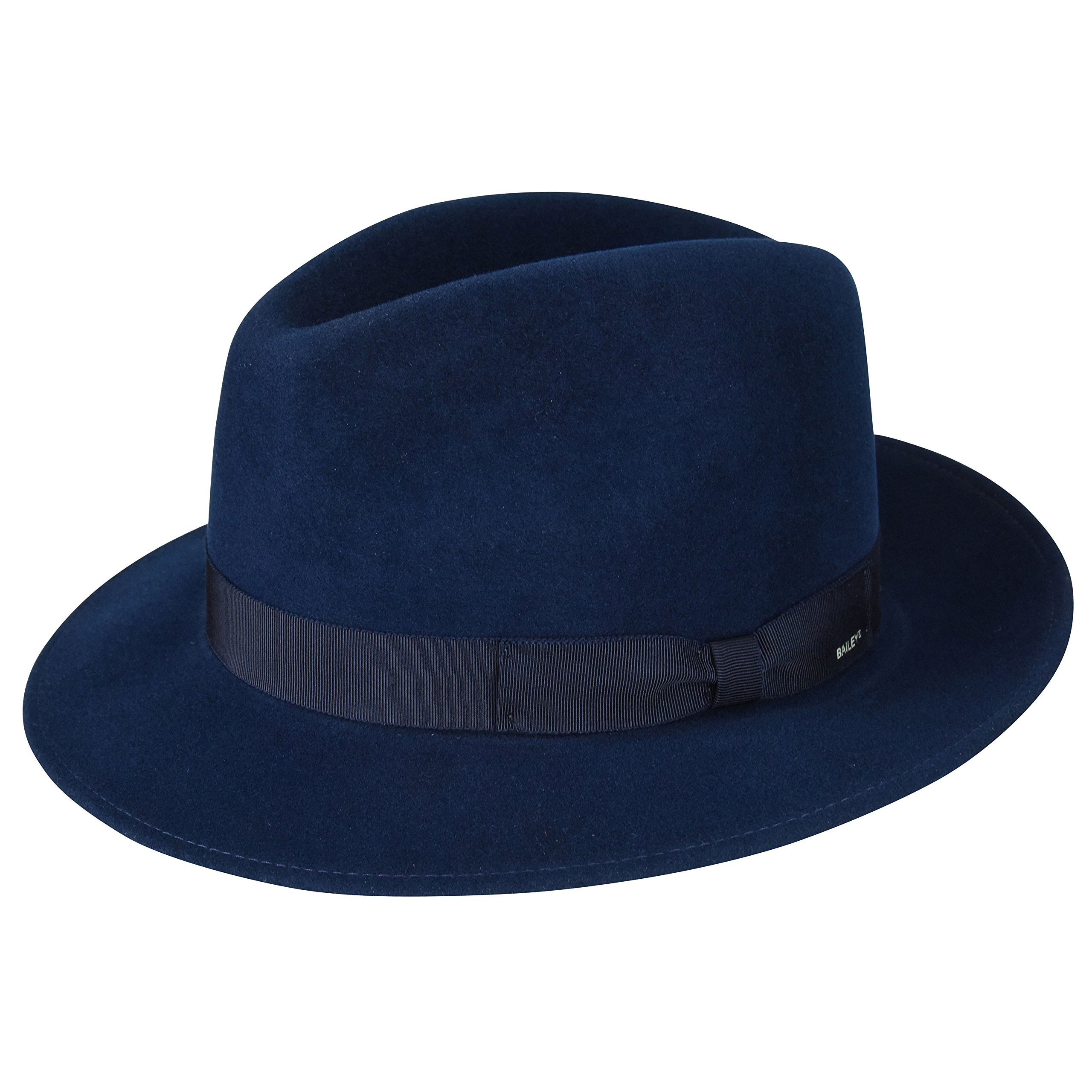 Bailey Of Hollywood Male Male Winters Fedora Peacoat L Peacoat L