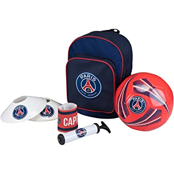 52096d72c5 Football kit PSG - Sac + ballon + pompe + brassard + plots - Collection  officielle