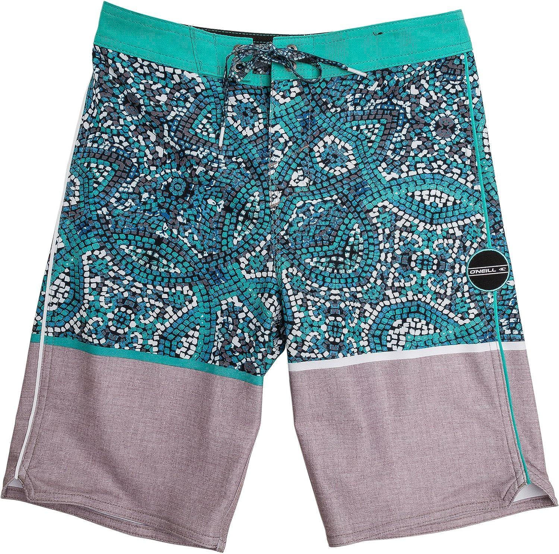 New O'neill Kids Hyperfreak Canggu Boardshort Polyester Elastane Blue O'neill