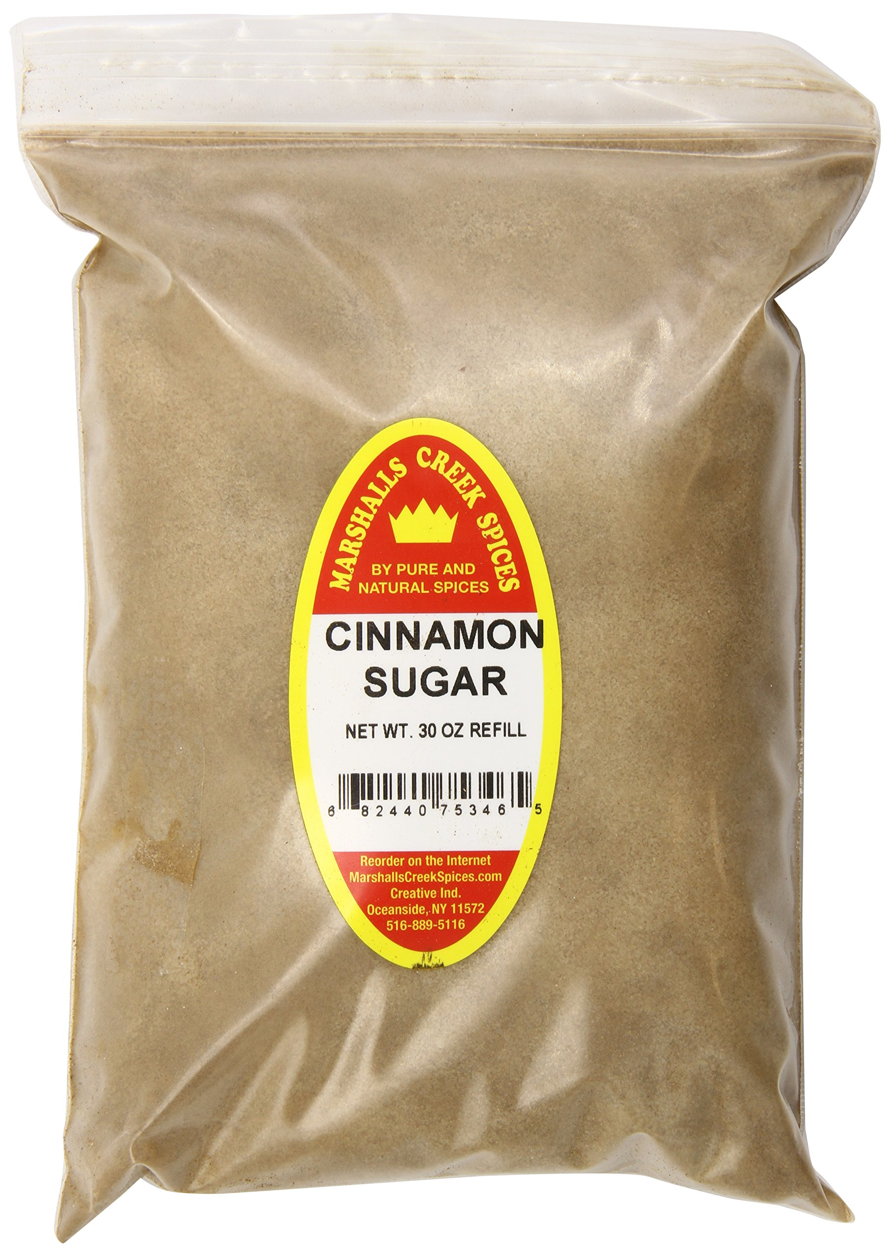 Marshalls Creek Spices X-Large Refill Cinnamon Sugar, 30 Ounce