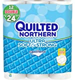 Quilted Northern Ultra Soft and Strong Double Roll Bath Tissue, 12 Count