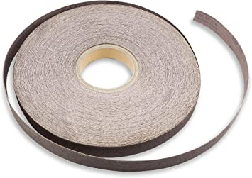 Shop Roll 400 Grit Sandpaper 50 yards 1 in wide