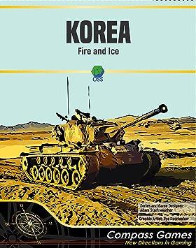 CPS: Corea, Fuego y Hielo, Juego de Mesa de Nivel estratégico de la Guerra en Corea, 1950-51: Amazon.es: Juguetes y juegos