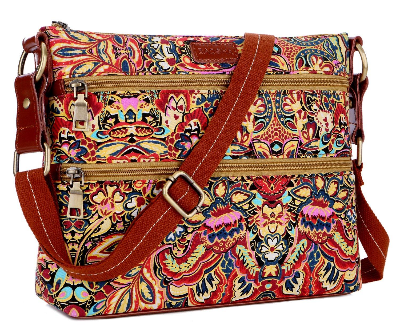 BAOSHA TB-04 Crossbody Purse Bag Shoulder Satchel Bag Women messenger Bag (colour)