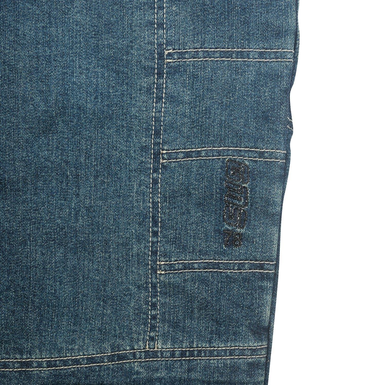 GERMAS Bike Jeans/Kevlar de jeans Erik con rodillera de protecciones, denim de color azul, tamaño 46/32