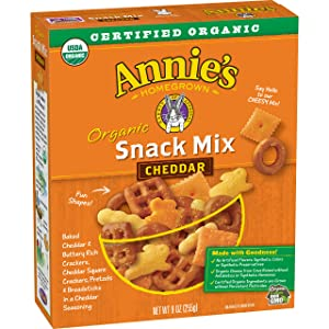 Annie's Homegrown Organic Snack Mix Bunnies Cheddar, 9 oz