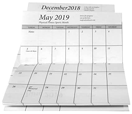 amazon com pocket calendar 2 year 2018 19 planner 1 datebook