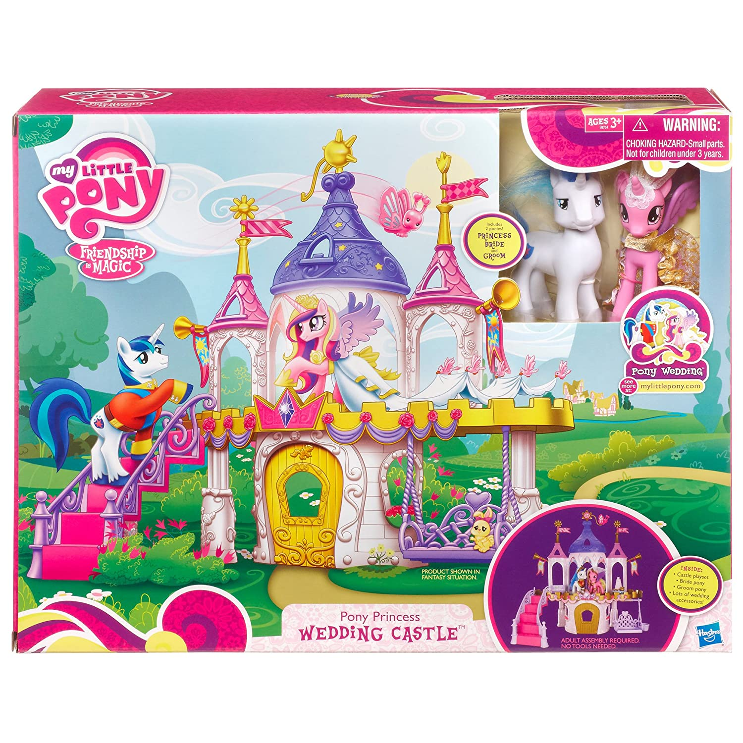 Amazon com my little pony princess wedding castle discontinued by manufacturer toys games