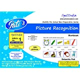 Picture Recognition workbook - Prepare for Picture Crossword / Floor Chart in MaRRS Pre School Bee and MaRRS Spelling Bee exams