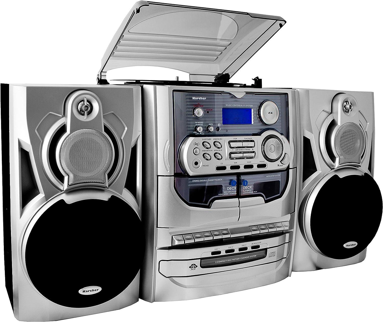 Karcher KA 5300 - Minicadena con espacio para 3 CD (importado)