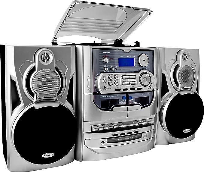 Karcher KA 5300 - Minicadena con espacio para 3 CD (importado ...