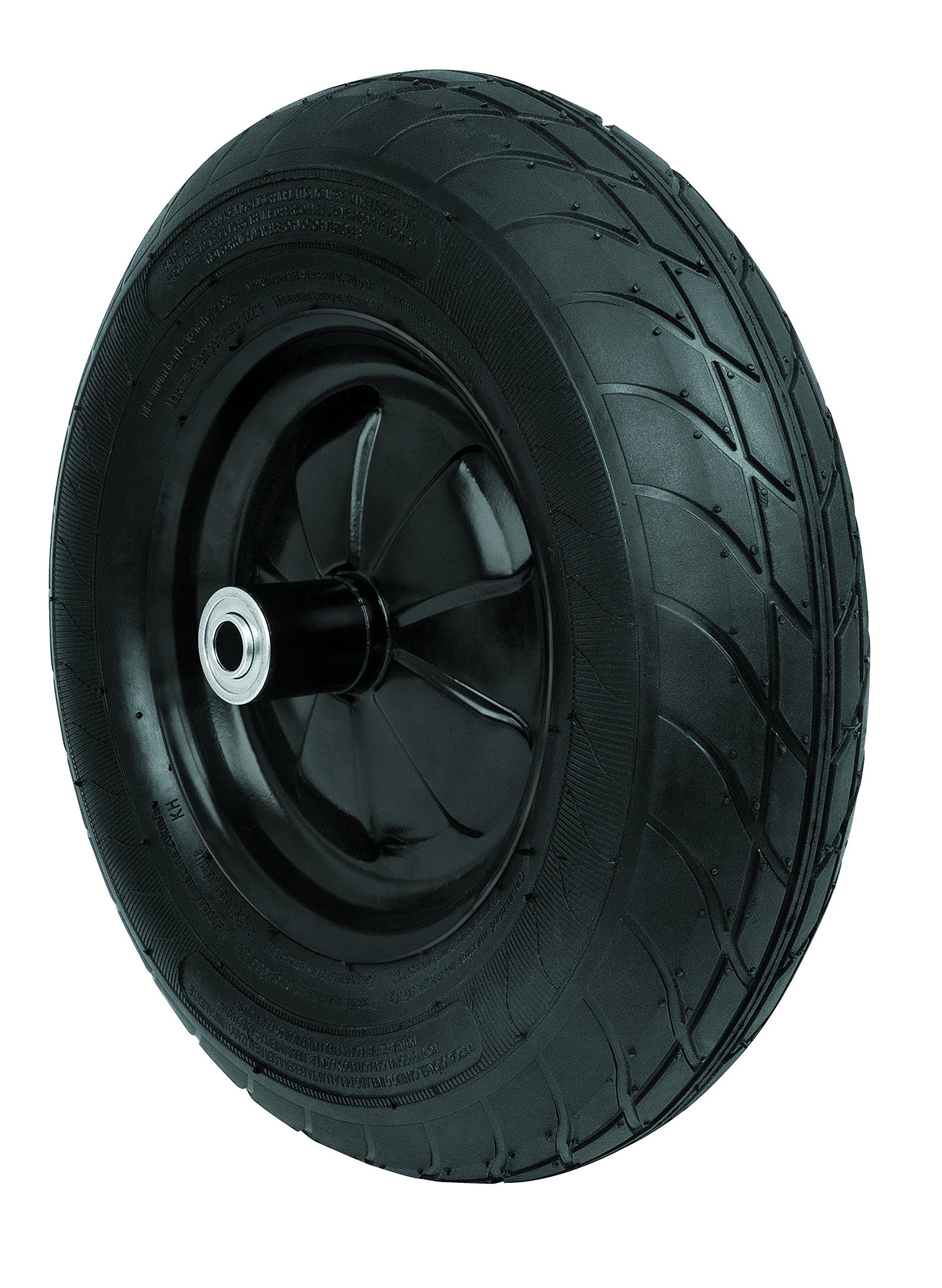 TRUPER LLSS Wheelbarrow Tires Block Pneumatic 16''x 4'' (41x10cm)