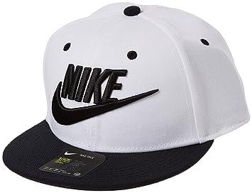Nike Y Nk True Futura Gorra de Tenis, Unisex niños, Blanco/Negro, Talla única: Amazon.es: Deportes y aire libre