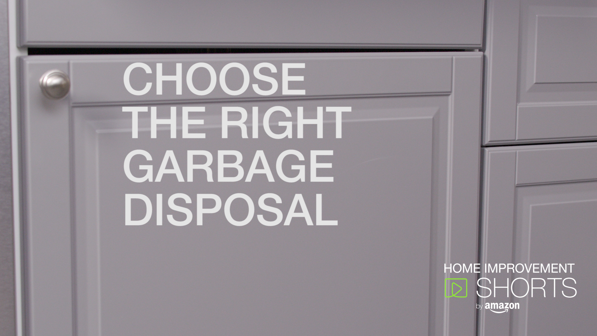 How to Choose the Right Garbage Disposal for You