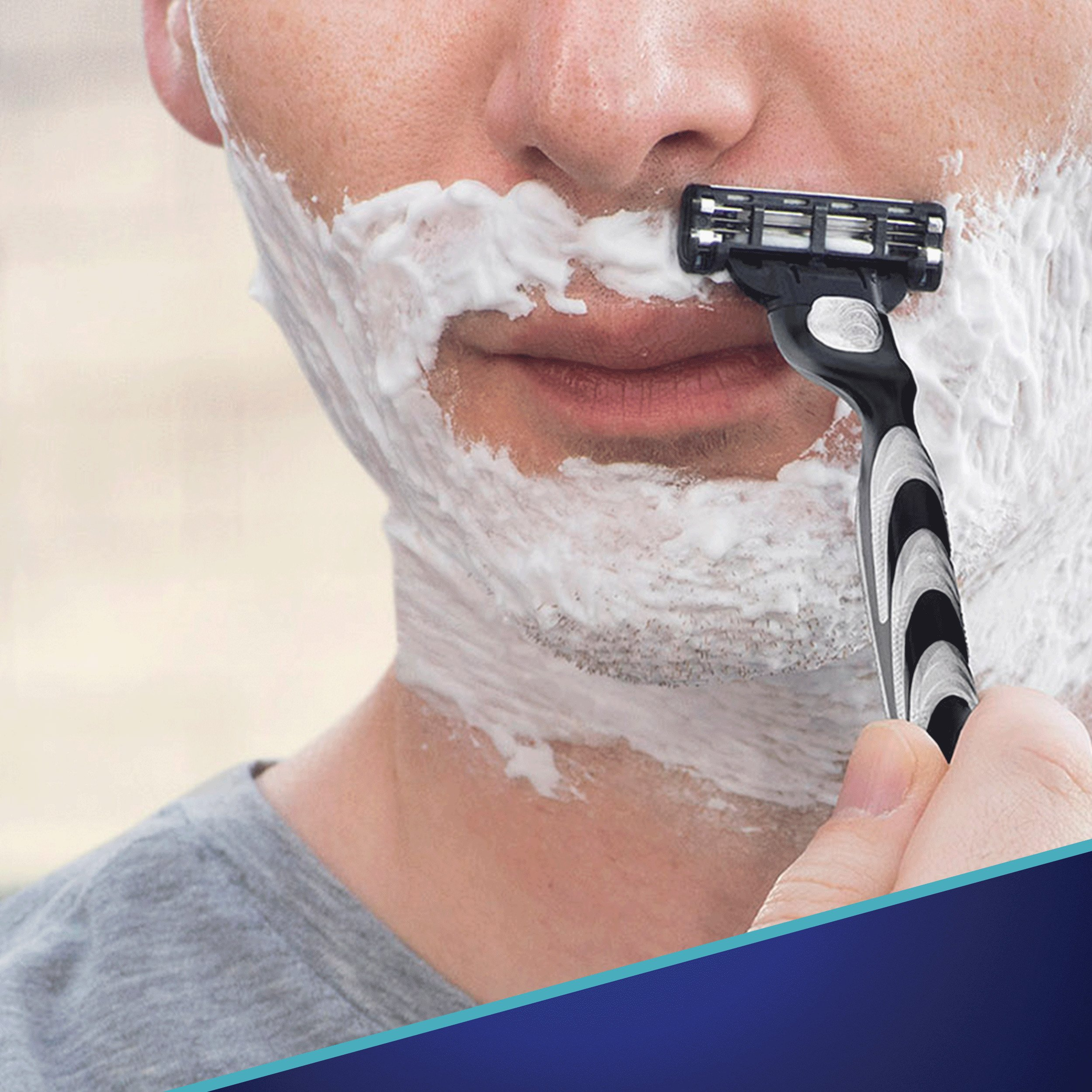 Gillette Mach3 Men's Razor Blades, 8 Blade Refills (Packaging May Vary) by Gillette (Image #3)
